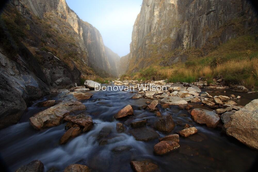 Clarke Gorge .Bimberi Wilderness by Donovan Wilson