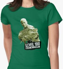 Jeremy Wade - Level 100 Fisherman Womens Fitted T-Shirt