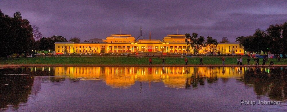 Old Parliament House Canberra - Canberra ACT Canberra - The HDR Experience by Philip Johnson