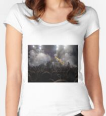 Passion Pit Concert Women's Fitted Scoop T-Shirt