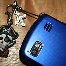 Pirate Blue Phone by Karen Carlisle
