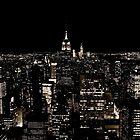 New York City Skyline at Night by Andrew  MCKENZIE