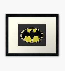Nanananana Toothless Framed Print