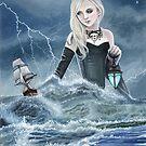 The Beautiful (and Terrible) Sea Goddess by Susan Van Sant