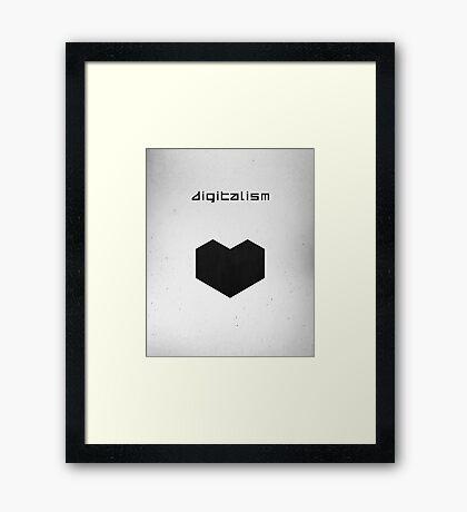 Digitalism Framed Print