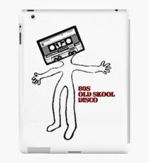 Vinilo o funda para iPad Old skool cassette man