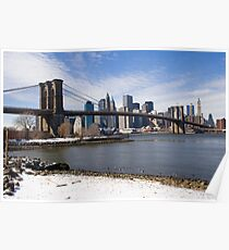 Brookyn Bridge Poster