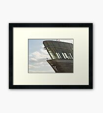 Control Tower Framed Print