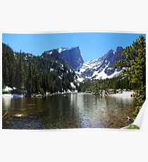 High mountain lake, Colorado Poster