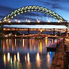 Newcastle Riverside by Great North Views