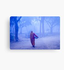 Lady With Load Metal Print