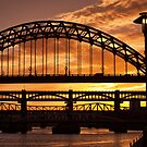 Newcastle at Sunset by Great North Views