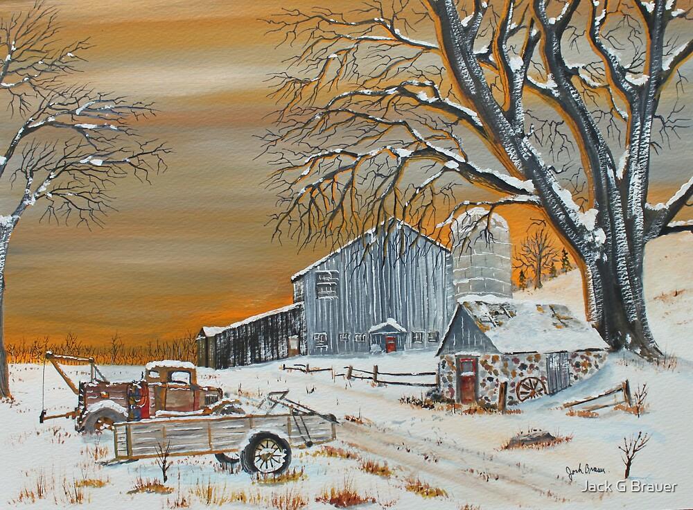 Pump House Path by Jack G Brauer