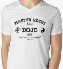 Master Roshi Dojo v1 Men's V-Neck T-Shirt