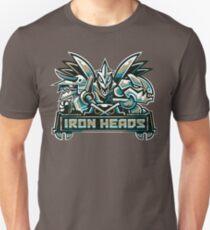 Camiseta unisex Tipos de equipos de acero: cabezas de hierro