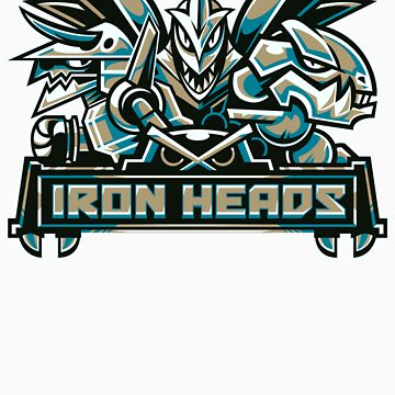 Team Steel Types - Iron Heads by misskari