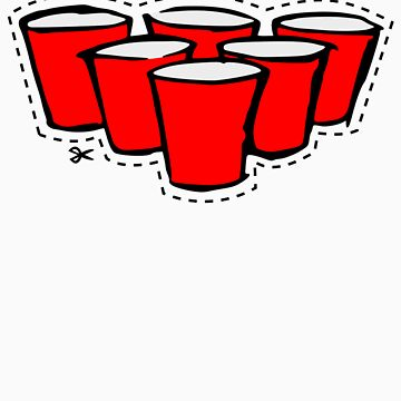 Beer Pong Cutout by natedawg