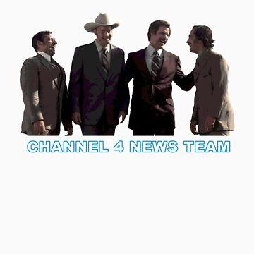 Anchorman - Channel 4 News Team by grayagi