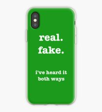 i've heard it both ways: psych iPhone Case