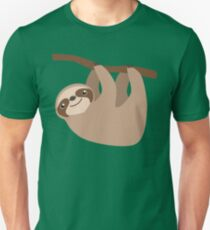 Cute Sloth on a Branch T-Shirt