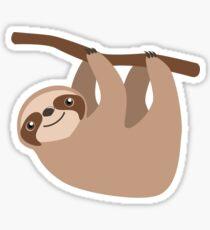 Cute Sloth on a Branch Sticker