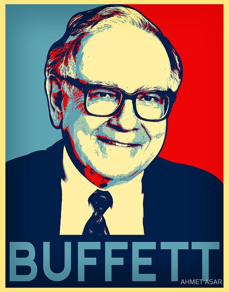 Warren Buffett  Hope Poster by MotionAge Media