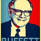Warren Buffett  Hope Poster by MotionAge Media
