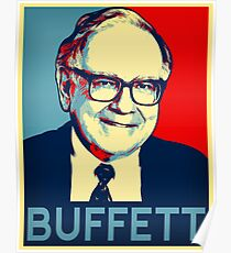 Póster Warren Buffett  Hope Poster
