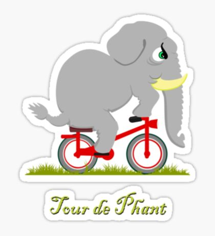 Tour de Phant VRS2 Sticker