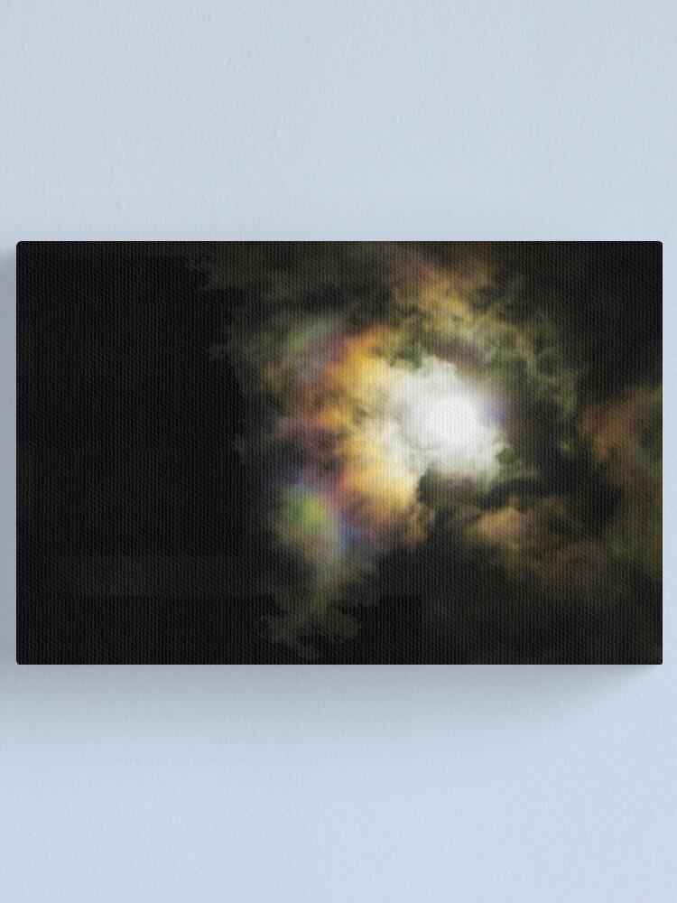 Alternate view of Moon Rainbow - Dec.20, 2010 Canvas Print