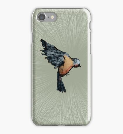 Scribbler Bird iPhone Case/Skin