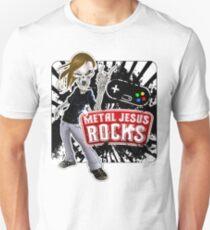 Undead Rocker - Metal Jesus Rocks Unisex T-Shirt