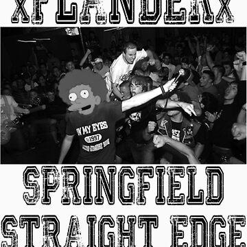 xFLANDERx - Springfield Straight Edge by KarasuZetsubou