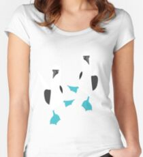 Blue Footed BOOBIES!!!! Women's Fitted Scoop T-Shirt