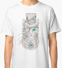 Steampunk Cat Vintage Style Classic T-Shirt