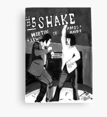 $5 Shake Canvas Print