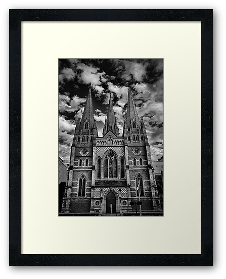 St Paul's Cathedral by David Tigani
