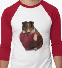 Sheltie Puppy with Heart T-Shirt