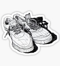 my old running shoes...  Sticker