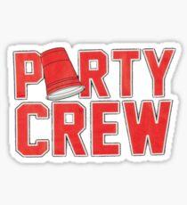 Party Crew Sticker