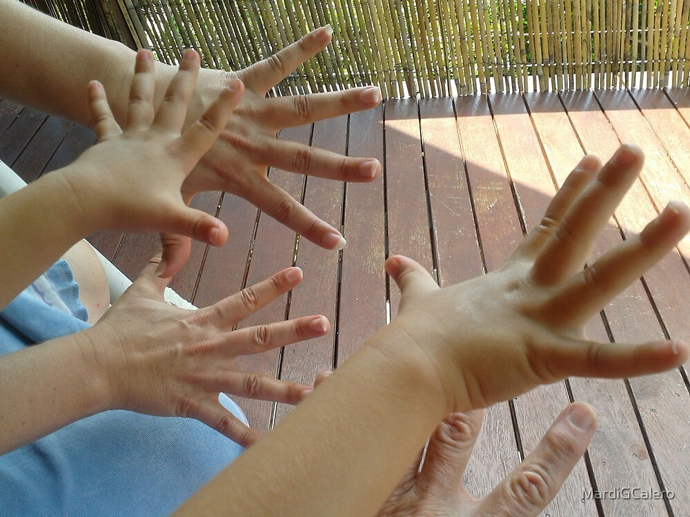 Hands -Three Generations by MardiGCalero
