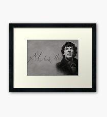 Holmes, Jeeves! Framed Print