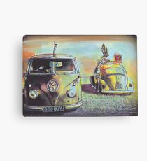 Bus N Bug Canvas Print