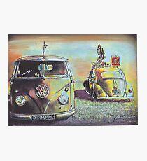 Bus N Bug Photographic Print