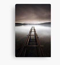 Loch Lomond Jetty Canvas Print