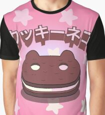 Steven Universe - Cookie Cat (Japanese) Graphic T-Shirt
