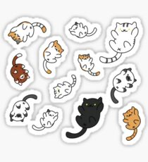 Neko Atsume Sticker Sheet Sticker