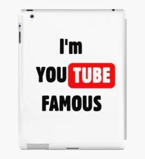 You tube Famous iPad Case/Skin