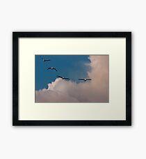 Squadron Framed Print