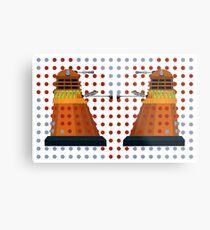 Dalek  Valentines Metal Print